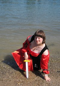Cosplay-Cover: Piraten Lady in Red