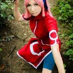 Cosplay: Sakura Haruno - Genin