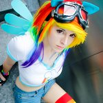 Cosplay: Rainbow Dash