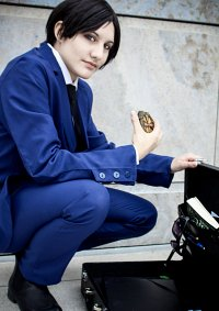 Cosplay-Cover: Artemis Fowl II