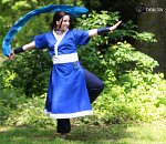 Cosplay-Cover: Katara (Wasserstamm-Outfits)