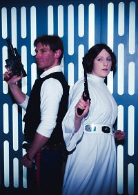 Cosplay-Cover: Leia Organa ~ Senatorial gown (Episode IV)