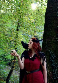 Cosplay-Cover: The Morrígan (Irish Mythology)