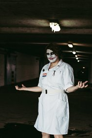 Cosplay-Cover: Joker ~ nurse (The Dark Knight)