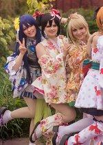 Cosplay-Cover: Nico Yazawa (Kimono)
