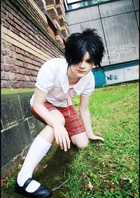 Cosplay-Cover: Natsume Hyuuga (Sommerschuluniform)