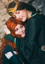 Cosplay-Cover: Queen Elinor of Dunbroch