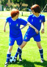 Cosplay-Cover: Romano/ Lovino Vargas Fußballtrikot