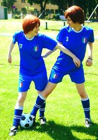 Cosplay-Cover: Norditalien/Feliciano Vargas - Fußballtrikot WM