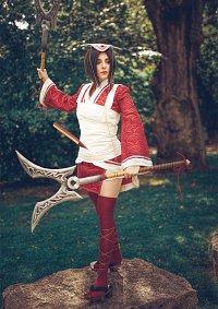 Cosplay-Cover: Bloodmoon Akali