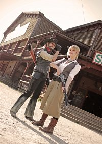Cosplay-Cover: Bonnie MacFarlane (Red Dead Redemption)