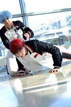 Cosplay-Cover: Taiga Kagami (Seirin Trainingsanzug)