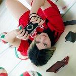 Cosplay: Kenma Kozume (Trikot)