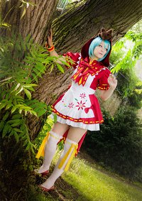 "Cosplay-Cover: Miku Hatsune ""Red riding hood"""