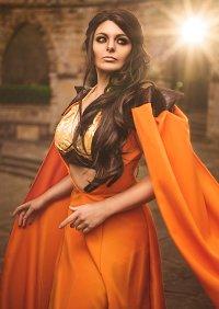Cosplay-Cover: Ellaria Sand / Dorne Kleid
