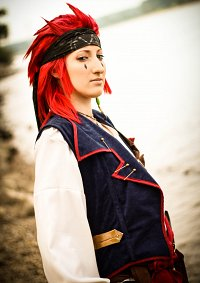 Cosplay-Cover: Axel - pirate version