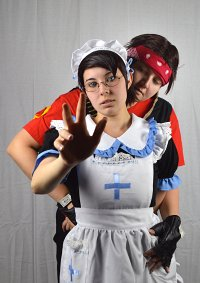 Cosplay-Cover: BLU Nurse-Medic