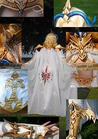 Cosplay-Cover: Golden Dragon Armor