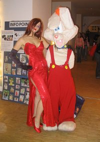 Cosplay-Cover: Jessica (Roger Rabbit)