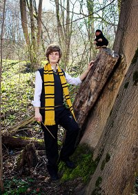Cosplay-Cover: Newt Scamander [Hufflepuff]