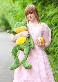 Cosplay-Cover: Des Froschkönigs Prinzessin.