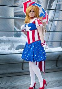 Cosplay-Cover: Captain America *female*