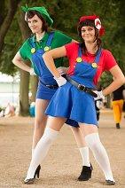 Cosplay-Cover: Luigi Mario (Gender Bender)