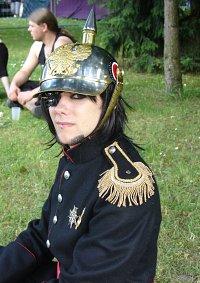 Cosplay-Cover: Preussischer General Gardeuniform