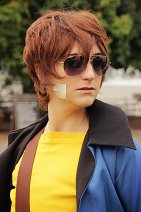 Cosplay-Cover: Kururugi Suzaku (Zivil-Version)