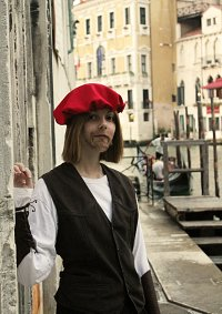 Cosplay-Cover: Leonardo da Vinci (casual)