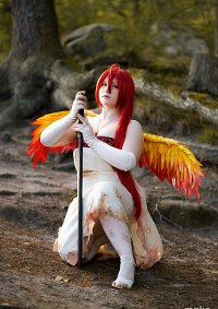 Cosplay-Cover: Shana ~ Flame Haze white dress