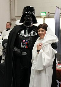 Cosplay-Cover: Leia Organa