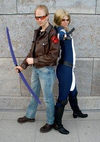 Cosplay-Cover: Hawkeye (Zivil)