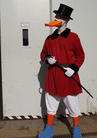 Cosplay-Cover: Dagobert Duck (anatid)