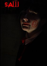 Cosplay-Cover: Billy(Jigsaw-Puppe)