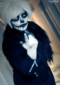 Cosplay-Cover: Skull