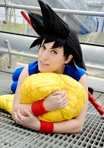 Cosplay-Cover: Son Goku (Kid)