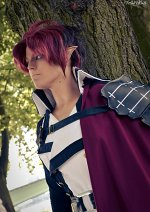 Cosplay-Cover: Crowley Eusford