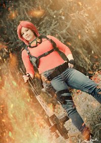 Cosplay-Cover: Claire Redfield (Sniper)