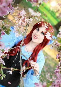 Cosplay-Cover: Arielle (blaues Kleid)