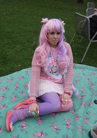 Cosplay-Cover: Pink-Lila Lolli