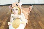 Cosplay-Cover: Rin Kagamine [Kigurumi]
