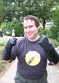 Cosplay-Cover: Captain Hammer (Dr. Horrible's Sing-along-blog)