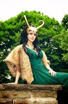 Cosplay-Cover: Lady Loki - Asgardian Princess (original design)