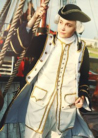 Cosplay-Cover: Commodore James Norrington