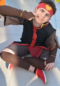 Cosplay-Cover: Aang