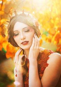 Cosplay-Cover: Herbstprinzessin