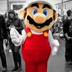 Cosplay: Feuer-Mario