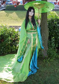 Cosplay-Cover: Der grüne Hanfu
