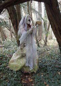 Cosplay-Cover: The blood splattered Bride
